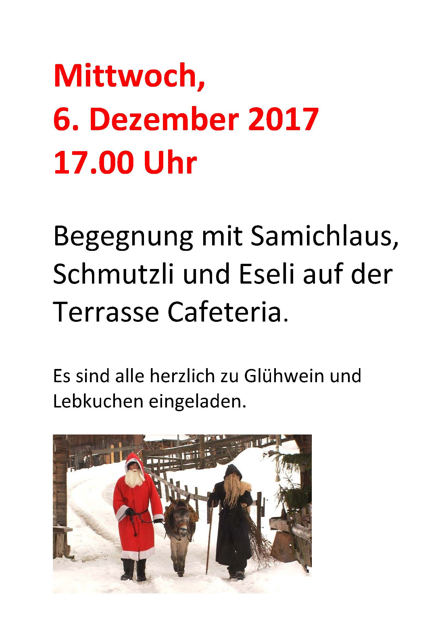 Samichlaus Esel Cafeteria